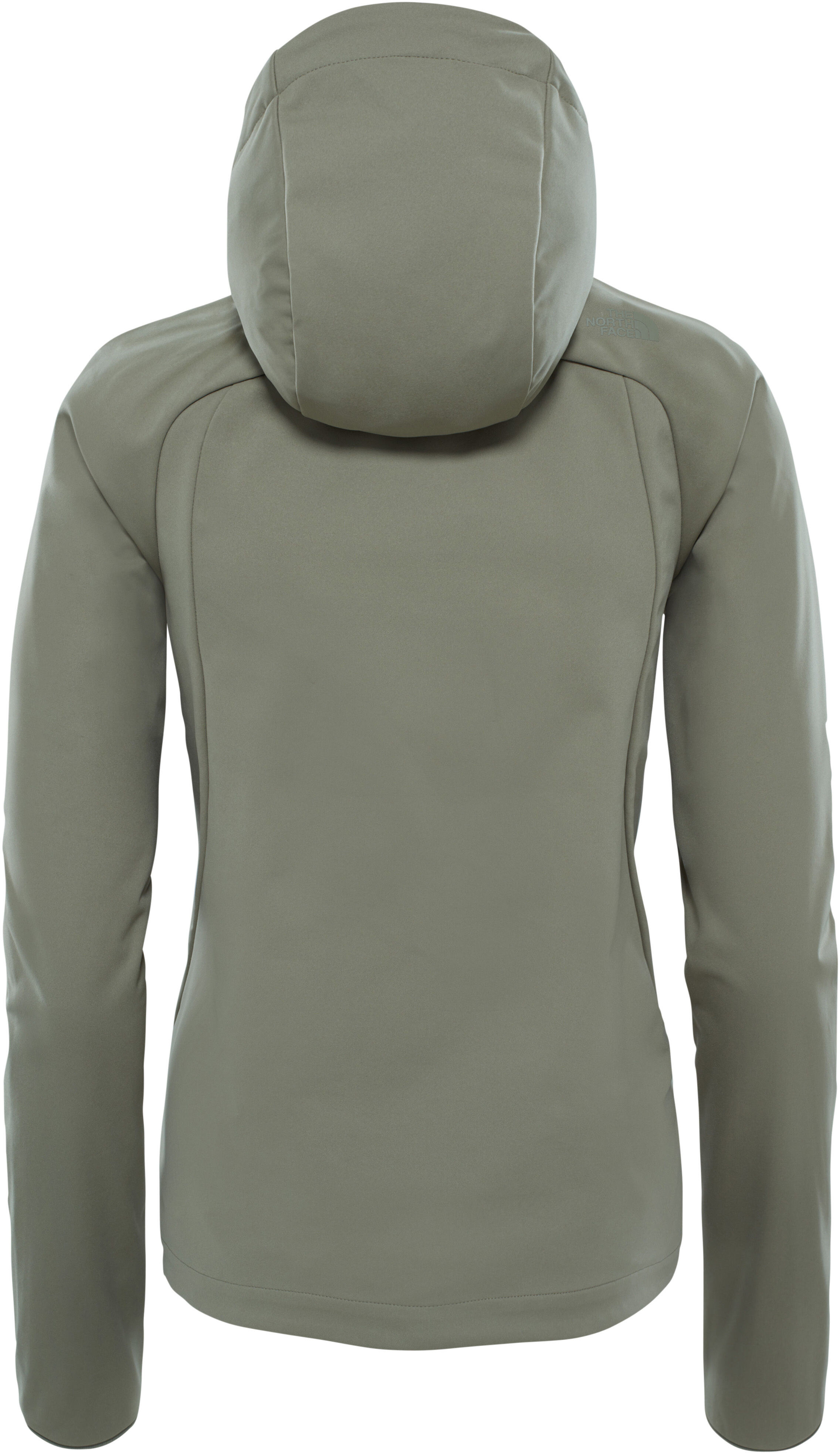 90bfd2fbacf0 The North Face Inlux Softshell Hoodie Dam deep lichen green ...